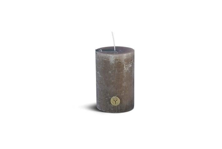 Brynxz Brynxz rustic candle brown 15cm
