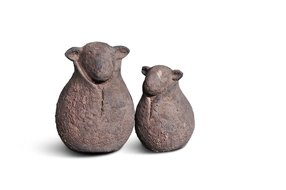 Brynxz Brynxz set of 2 sheep classic old brown
