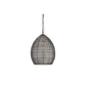 Light & Living Hanglamp Ø40x53cm MEYA zwart goud