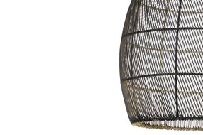 Light en Living Light en Living Hanglamp Ø20x25 cm MEYA zwart goud