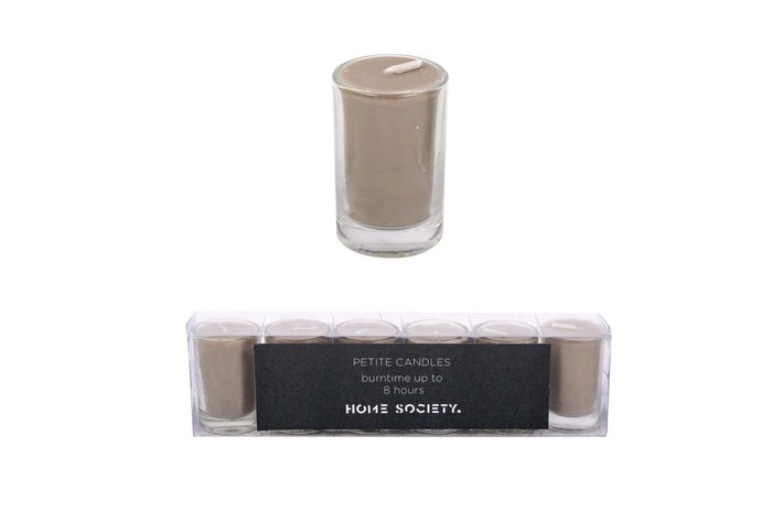 Home society Home Society Votive Candles Taupe