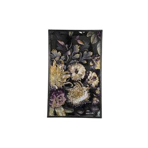 PMTD Mayson Mirror flower print rectangle wide L