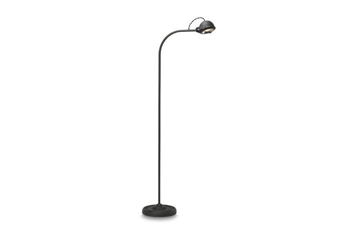 Frezoli Lighting by Tierlantijn Frezoli vloerlamp Lupia Mat zwart L.158.3.600