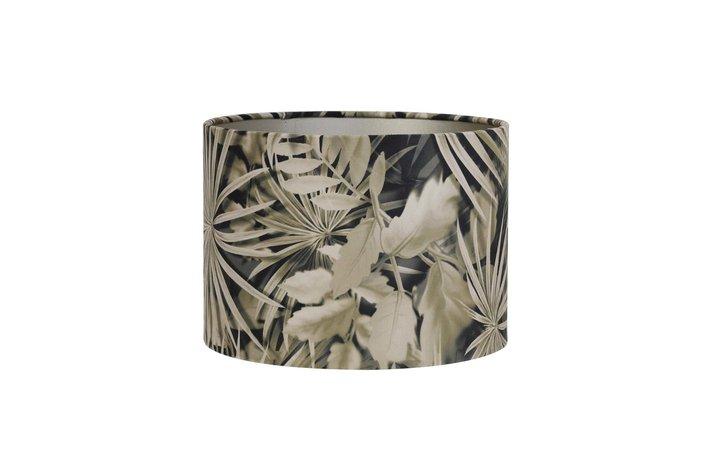 Light en Living Light & Living Kap  35 cm verlours palm sepia