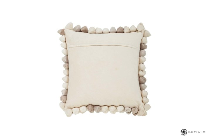 Haans lifestyle Haans Cushion Pebble - Champagne White