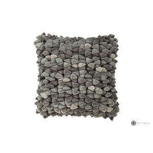 Haans Cushion Pebble - Ash Grey