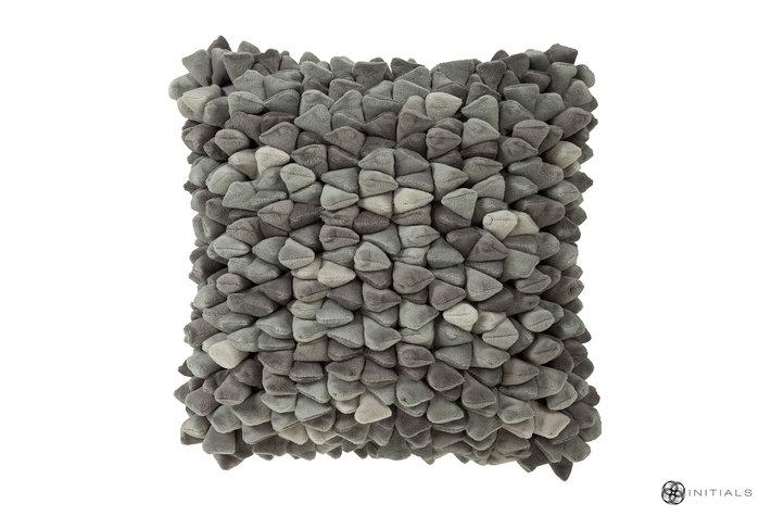 Haans lifestyle Haans Cushion Pebble - Ash Grey