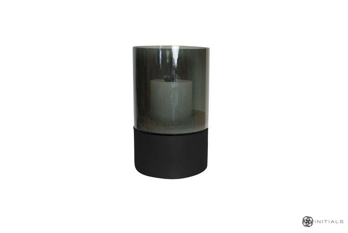 Haans lifestyle Haans stand zinc structure matt black round - 15cm