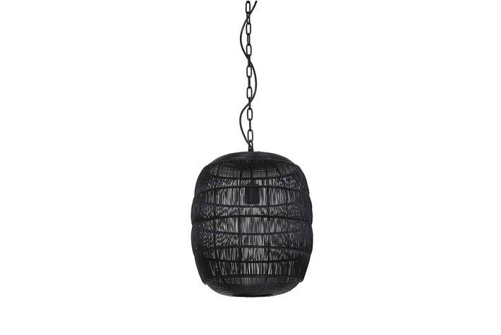 Light Living Hanging lamp Ø34,5x40 cm CARLA black