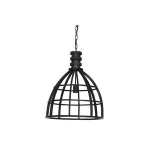 Hanglamp 50X62cm Ivy antiek zwart