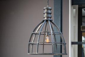 Light en Living Hanglamp 50X62cm Ivy antiek zwart