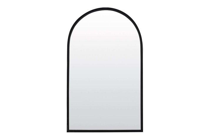 Light Living Mirror 90x5x150 cm FERES matt black