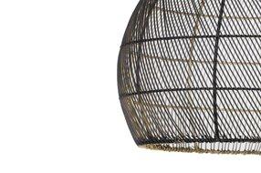 Light en Living Light & Living Hanglamp Ø40x53cm MEYA zwart goud