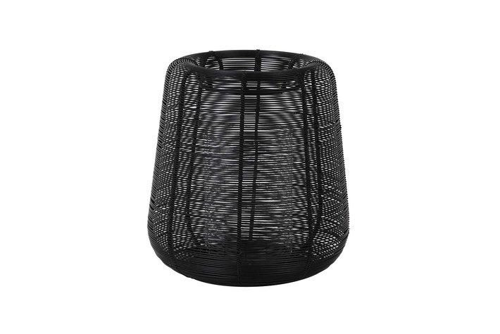 Light en Living Light & Living Hurricane Ø18x20,5 cm ADETA black+glass