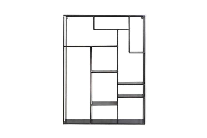 Light en Living Light & living Wall rack 110x25,5x150 cm TALARA antique black