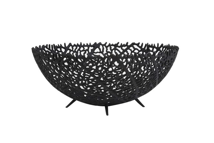 Light en Living Light & Living Bowl Ø46x18 cm GALAXA matt black