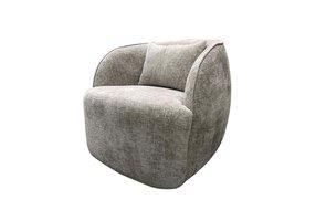 Eigenstijl Wonen Draai fauteuil Toby stof Island 124