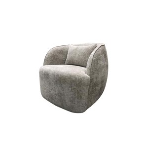 Draai fauteuil Toby stof Island 124