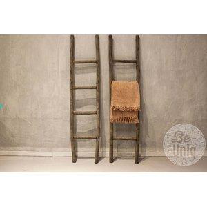 Be-uniq houten ladder grey finisch