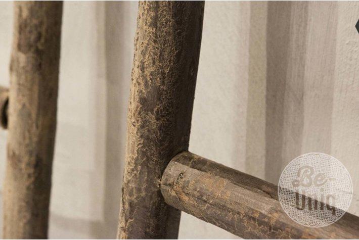 Be Uniq Be-uniq houten ladder grey finisch