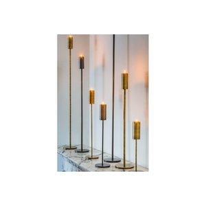 Light & Living Tealight on base Ø12,5x100 cm BAYA antique bronze