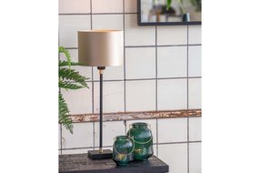 Light & Living Lamp base 10x10x45 cm CHAKOR matt black