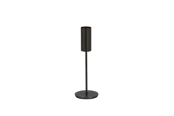 Light en Living Light & Living Tealightholder on base Ø10x30 cm BAYA lead antique
