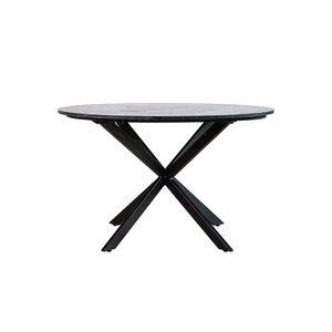 Eettafel Remy marmer rond - 130x78cm