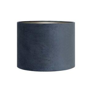 Light & living Kap cilinder 20-20-15 cm VELOURS dusty blue