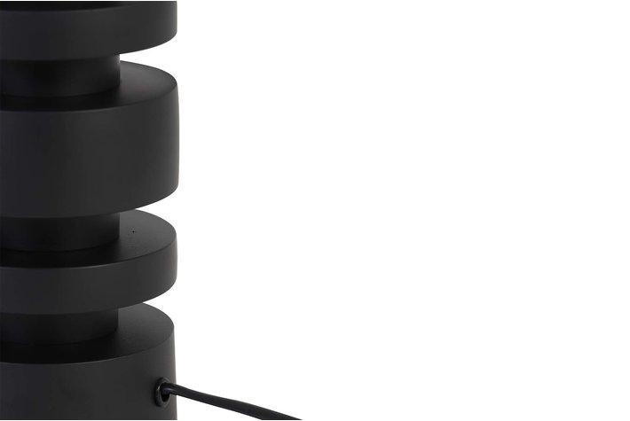 Light en Living Light en Living Lampvoet Ø10,5x35 cm DESLEY mat zwart