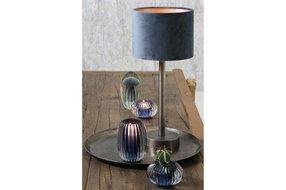 Light en Living Light en Living Lampvoet Ø12,5x35 cm UNDAI donker ruw nikkel