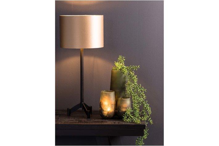 Light en Living Light & Living Lampvoet 15,5x15,5x40 cm DENNIS mat zwart
