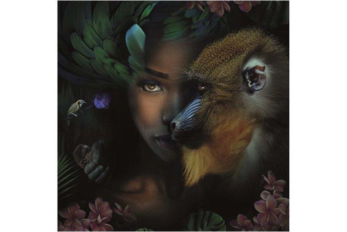 Eigenstijl Wonen Alu Art MA Monkey & Me 120x120
