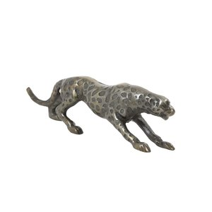 Light & Living Ornament 50x10x12 cm SISOKO panther antique bronze