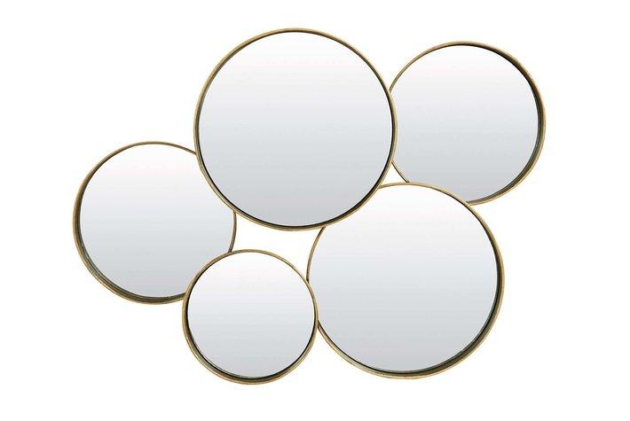 Light en Living Light & Living Mirror 76x11x60 cm SIANNA antique gold
