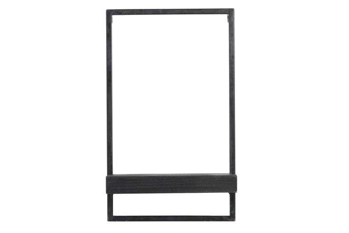 Light en Living Light & Living Wall shelf 30x15x50 cm MADDISON wood black