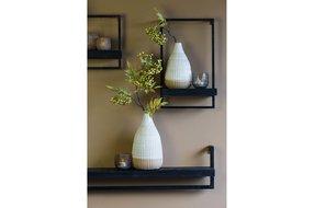 Light en Living Light & Living Wall shelf 80x15x24 cm MADDISON wood black