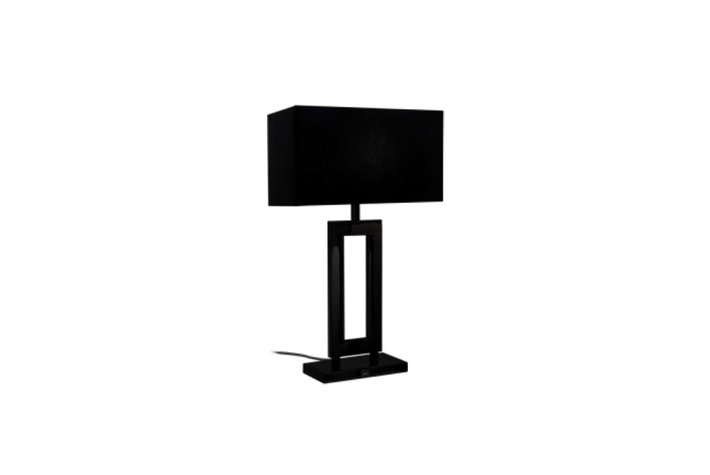 Maretti Lighting Maretti Marriott tafellamp - Zwart + zwarte kap
