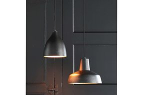 Light en Living Light & Living Hanglamp sumero mat zwart goud