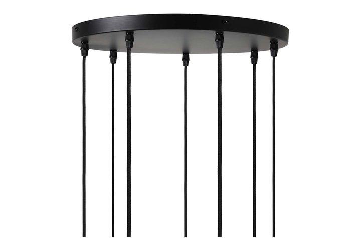 Light en Living Light & Living Hanglamp 5L Ø35x117,5 cm BRANDON mat zwart