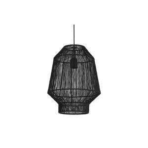 Light & Living Hanglamp Ø37x46 cm VITORA mat zwart