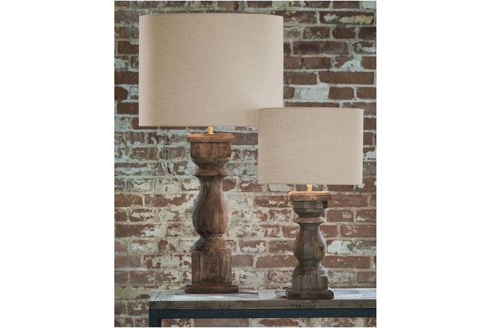Light en Living Light & Living Lampenvoet cadore  XL hout weather barn