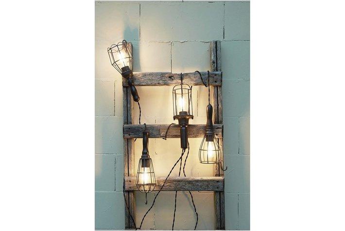 Light en Living Light & Living haak hanglamp zwart metaal