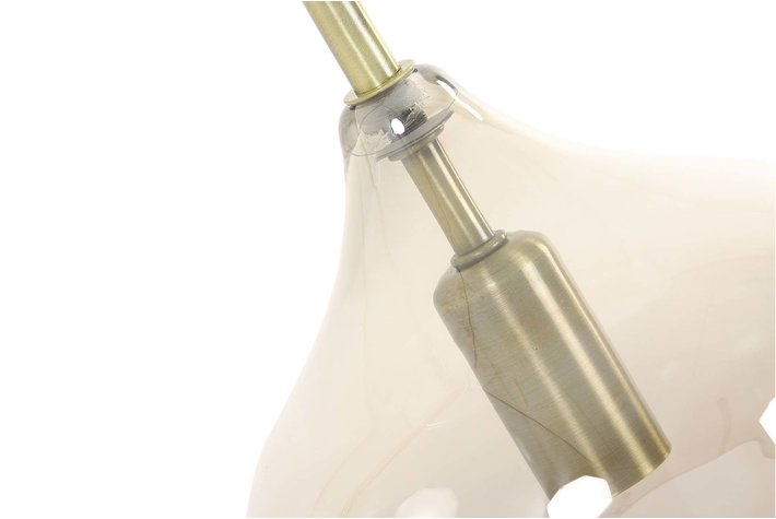 Light en Living Light & Living Tafellamp E14 28x17x50,5 cm RAKEL antiek brons+smoke