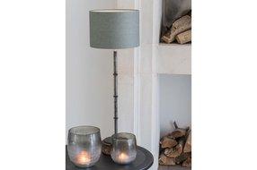 Light en Living Light & Living Kap cilinder 25-25-18 cm VINTAGE water