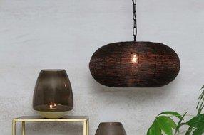 Light en Living Light & Living Hanglamp nadra  M brons-goud