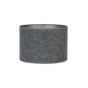 Light & Living Kap cilinder 20-20-15 cm SAVERNA staal blauw