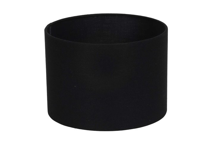 Light en Living Light & Living Kap cilinder 20-20-15 cm LIVIGNO zwart