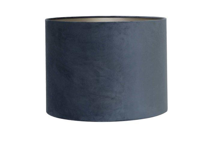 Light en Living Light & Living Kap cilinder 30-30-21 cm VELOURS dusty blue
