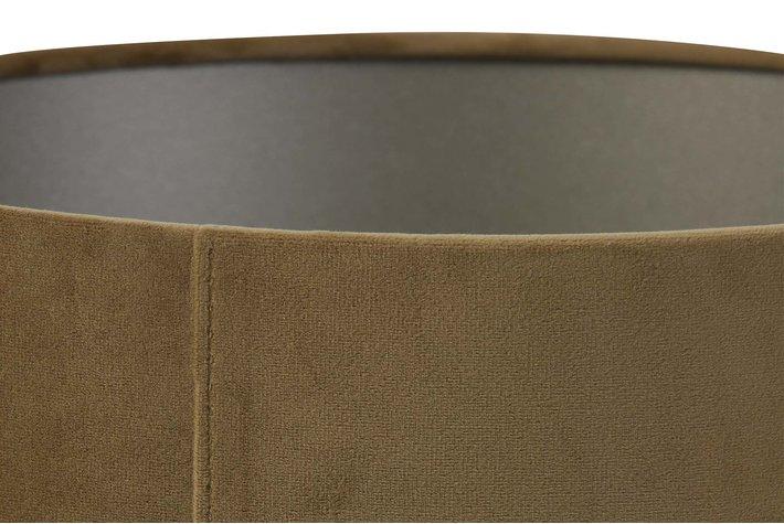 Light en Living Light & Living Kap cilinder 30-30-21 cm VELOURS karamel